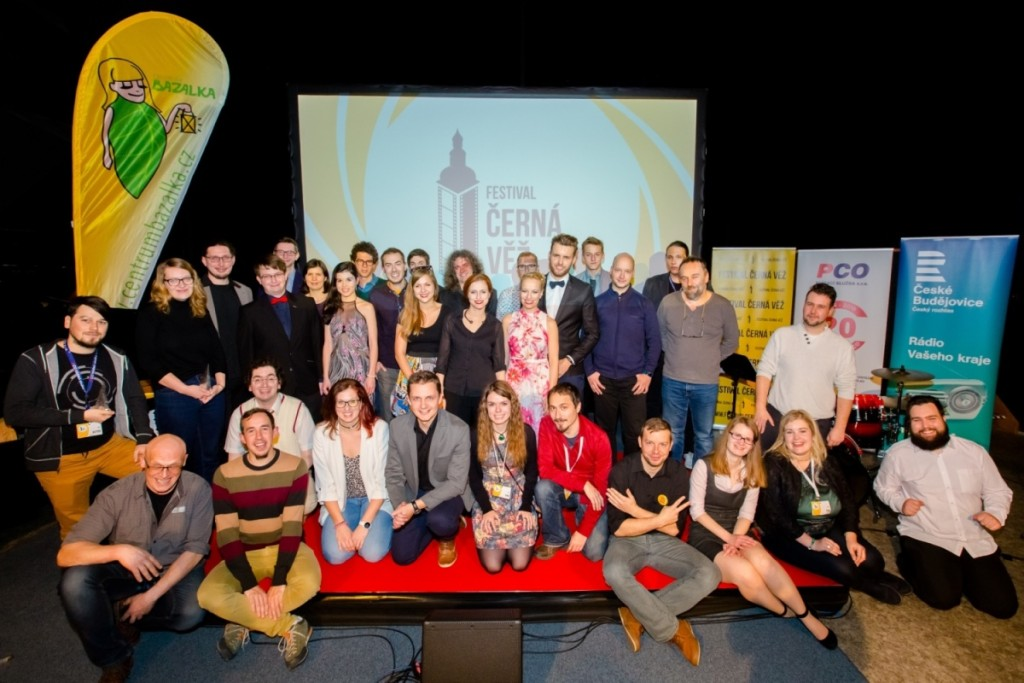 Do Českých Budějovic se sjeli desítky filmařů, aby se mezi sebou utkali o sošky Černé věže. (Foto: Barbora Fuhrmannová)